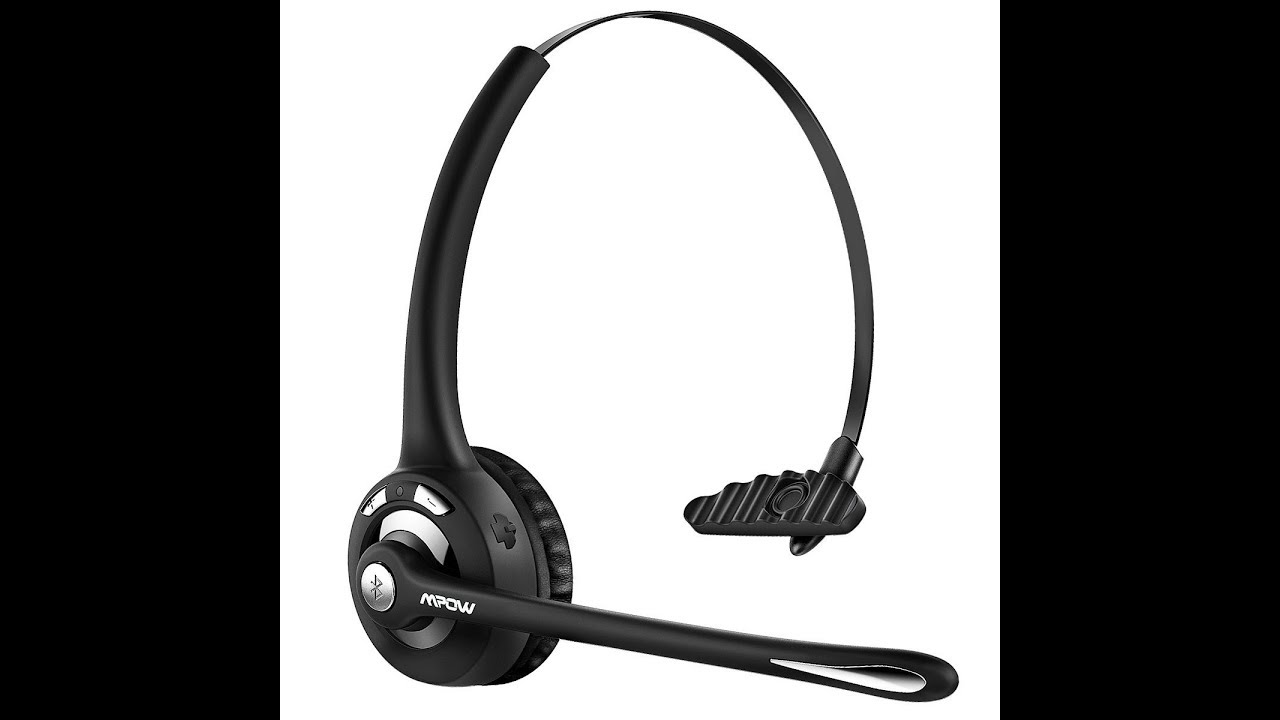 mpow pro truck driver bluetooth headset