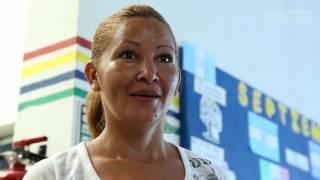 Madre hondureña habla sobre la violencia de las pandillas