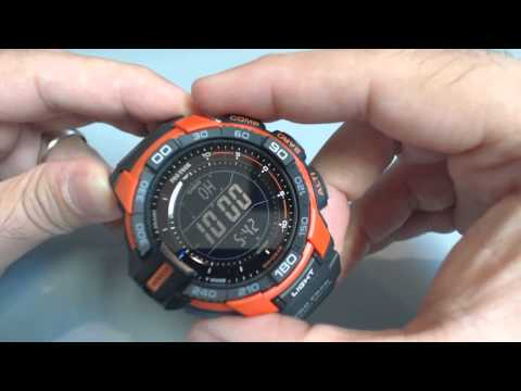 Casio Protrek PRG-270-4 Solar Compass Watch PRG270-4