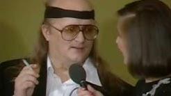 Juice Leskisen haastattelu Linnan juhlissa 1986