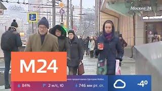 Смотреть видео В Москве объявили желтый уровень погодной опасности - Москва 24 онлайн