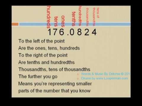 Decimals Song - Fun Learning Math! - YouTube