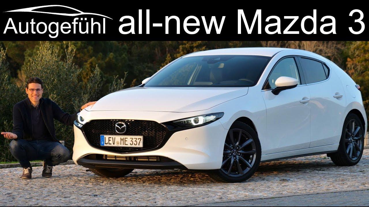 All New Mazda3 Full Review Hatch Vs Sedan Comparison Mazda 3 2020 Autogefuhl Youtube