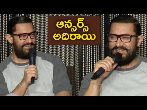 Aamir Khan Superb Answers To Media Questions | Aamir Khan Making Fun With Media | TFPC