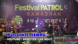 Peserta Patrol dari Kec  SEMPU   BANYUWANGI FESTIFAL 2017