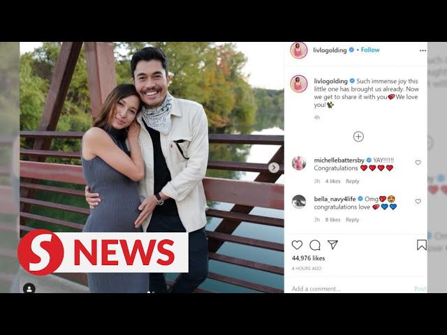Henry Golding to be a first-time father