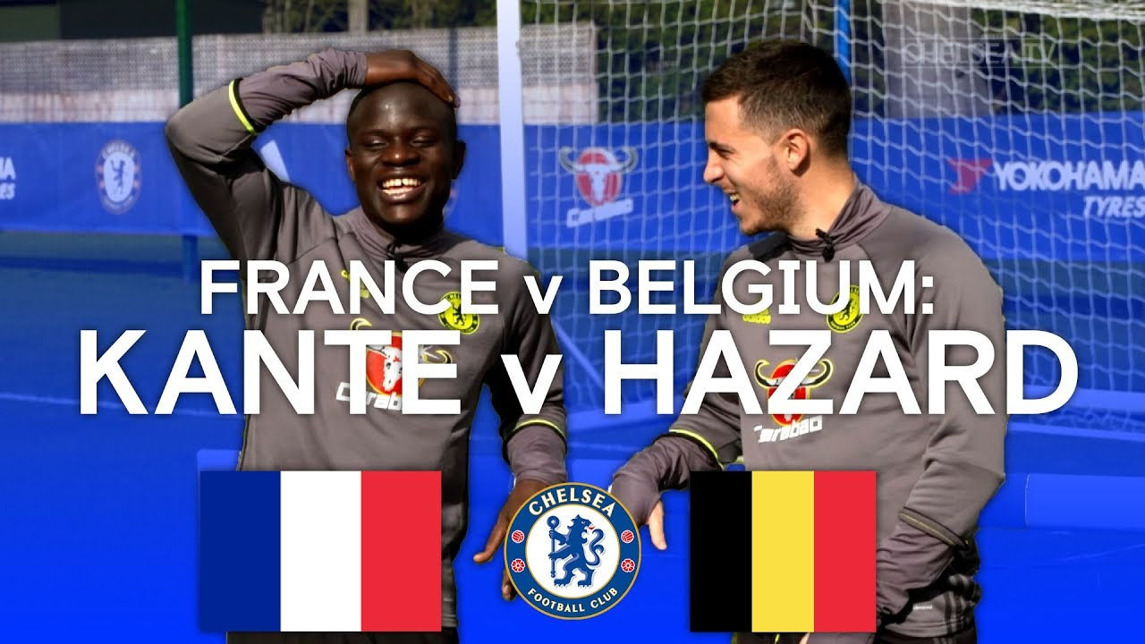 Download FLASHBACK! Belgium v France: Hazard & Kante on Hazard & Kante