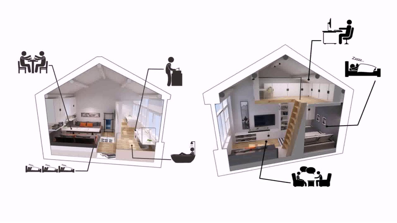 Small House Plans With No Wasted Space - YouTube on a-frame house plans, high pitched roof house plans, functional house plans, kitchen house plans, h style house plans, best small house plans, simple one floor house plans, prairie style house plans, efficient house plans, open house plans, 2 bedroom cottage house plans, bonus room house plans,
