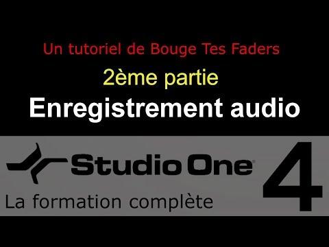 Formation Studio One 4 - D02: Enregistrement audio (2/2)
