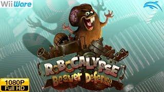 Robocalypse: Beaver Defense - WiiWare Wii Gameplay 1080p (Dolphin GC/Wii Emulator)