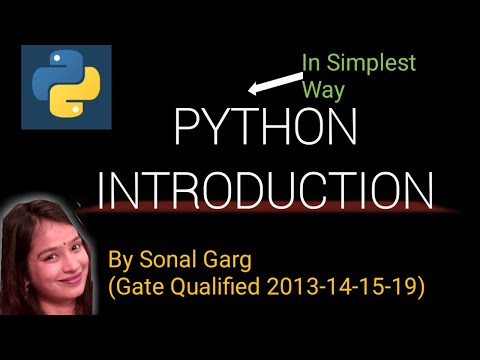 #1 Python Tutorial For Beginners| Introduction to Python| Hindi| What is Python thumbnail