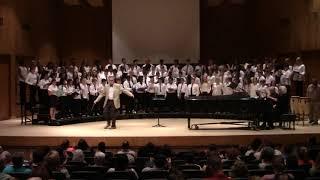 2017 Harnett County All-County Honors chorus performance