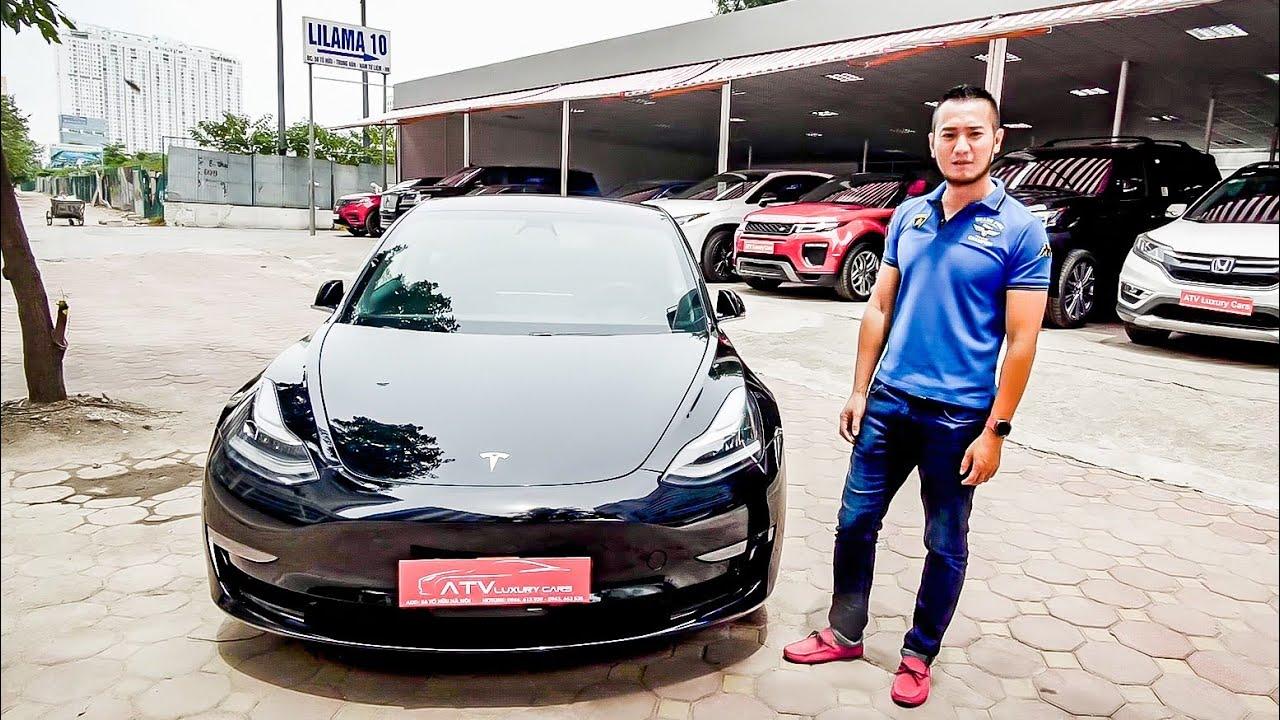 Khám phá Tesla Model 3 đầu tiên tại Việt Nam giá ngang S-Class | XE HAY