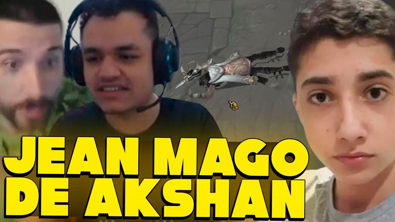 JEAN MAGO TROLLANDO DE AKSHAN, CARIOK FALA SOBRE A PLAY COM BRTT, BAIANO SURPRESO COM CBLOL- MMS LOL
