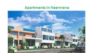 Investment In Real Estate Flats, Apartment, Villas in Neemrana Projects