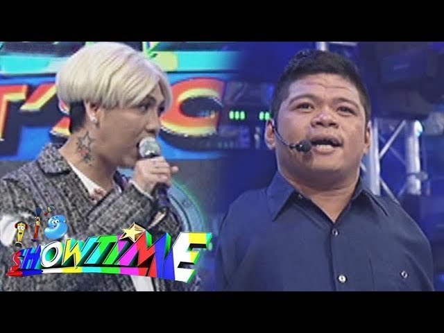 It's Showtime: Vice Ganda fulfills the dream of a handicapped barker Michael Ashie Sta. Ana