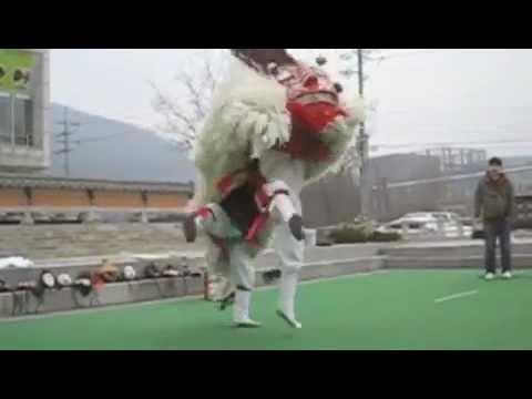 Korean lion dance (saja-nori)
