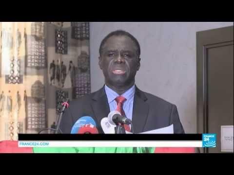 BURKINA FASO - Discours du président de la transition Michel Kafando