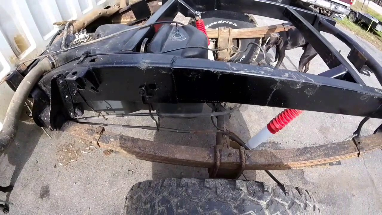 small resolution of fixing up my 2000 chevy silverado fixing the frame