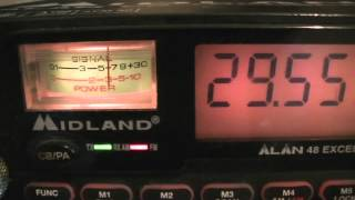 CB Funk und evtl. Schwarzfunker 25 bis 30 Mhz viele Stationen zu hören - eflose #463
