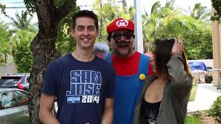 Super Mario: The Mushroom Dealer (Hidden Camera)