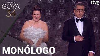 MONÓLOGO DE ANDREU BUENAFUENTE y SILVIA ABRIL | Premios Goya 2020