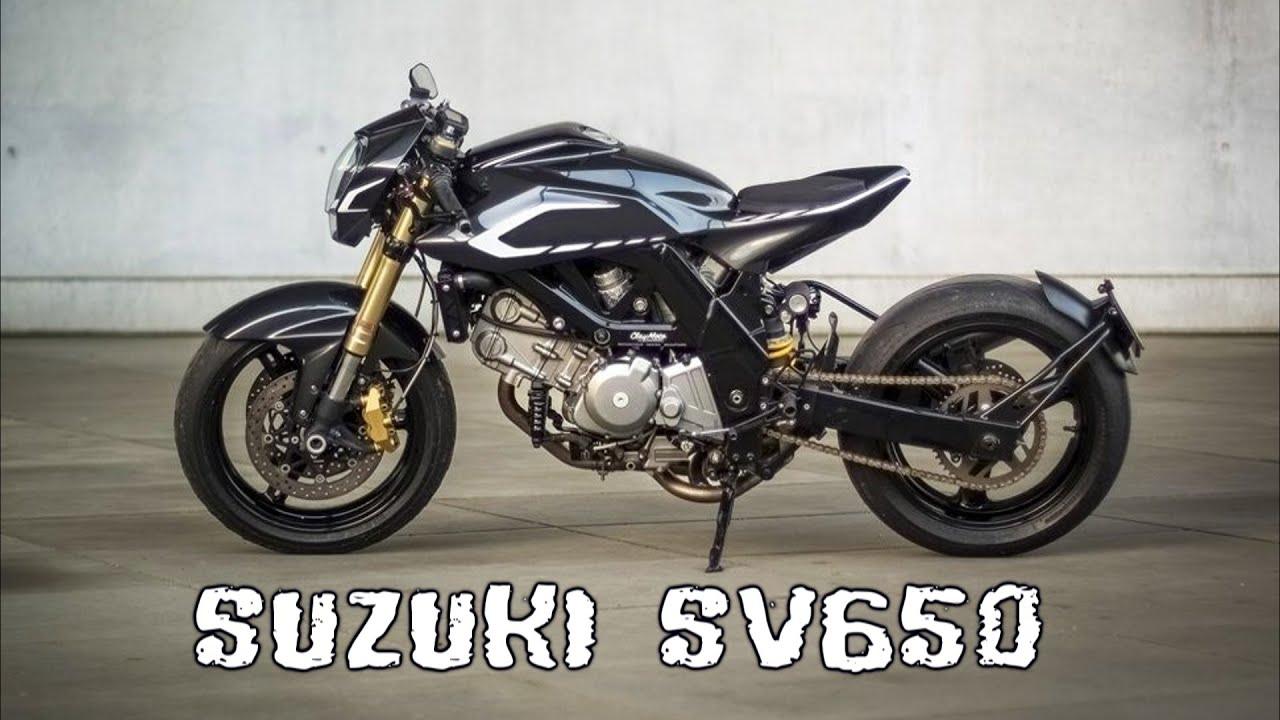 suzuki sv650 cafe racer - youtube