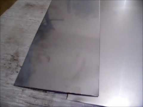 Видео Лист нержавеющий 1 0 1000 2000