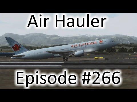 FSX | Air Hauler Ep. #266 - Landing Without Flaps!!! | 767-300