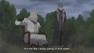Durarara x2 Shou Scene - Speaking Russian/Japanese?![Eng Sub]