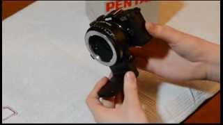 How to use K-mount lenses of the Pentax Q
