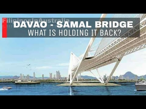 Davao Samal Bridge whats holding it back