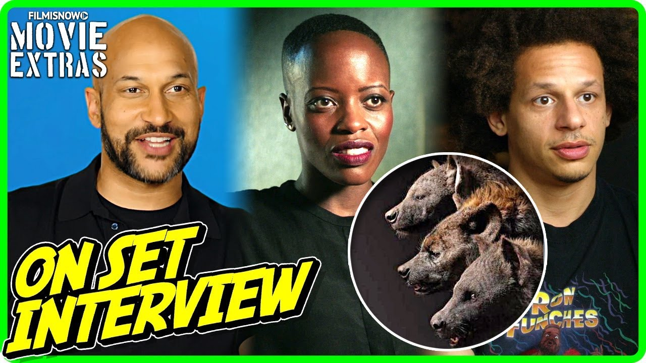 The Lion King Keegan Michael Key Florence Kasumba Eric André On Studio Interview