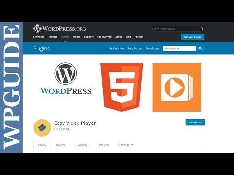 How to Embed a Video with Easy Video Player WordPress Plugin