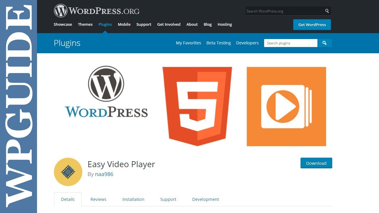 Easy Video Player – WordPress plugin | WordPress org