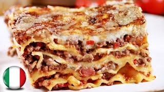 Authentic Italian Lasagna Recipe   FAMOUS ITALIAN FOOD