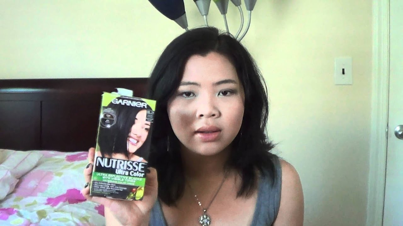 Blue Black Hair Color Garnier
