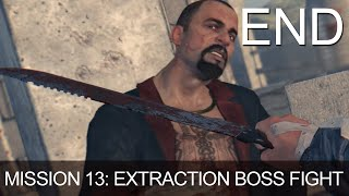 Dying Light Last Mission 13 Extraction Ending Boss Fight Killing Rais Last Part