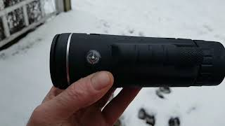 My new Monocular for my phone 40x60 zoom. Not a revue