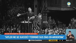 Aseguran que Hitler no se suicidó y que murió en Argentina | #TPANoticias