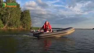 видео Маломощные подвесные лодочные моторы для надувных лодок ПВХ