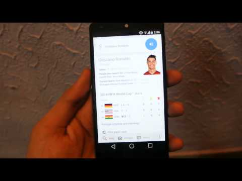 Nexus 5 Android L Google Now Review