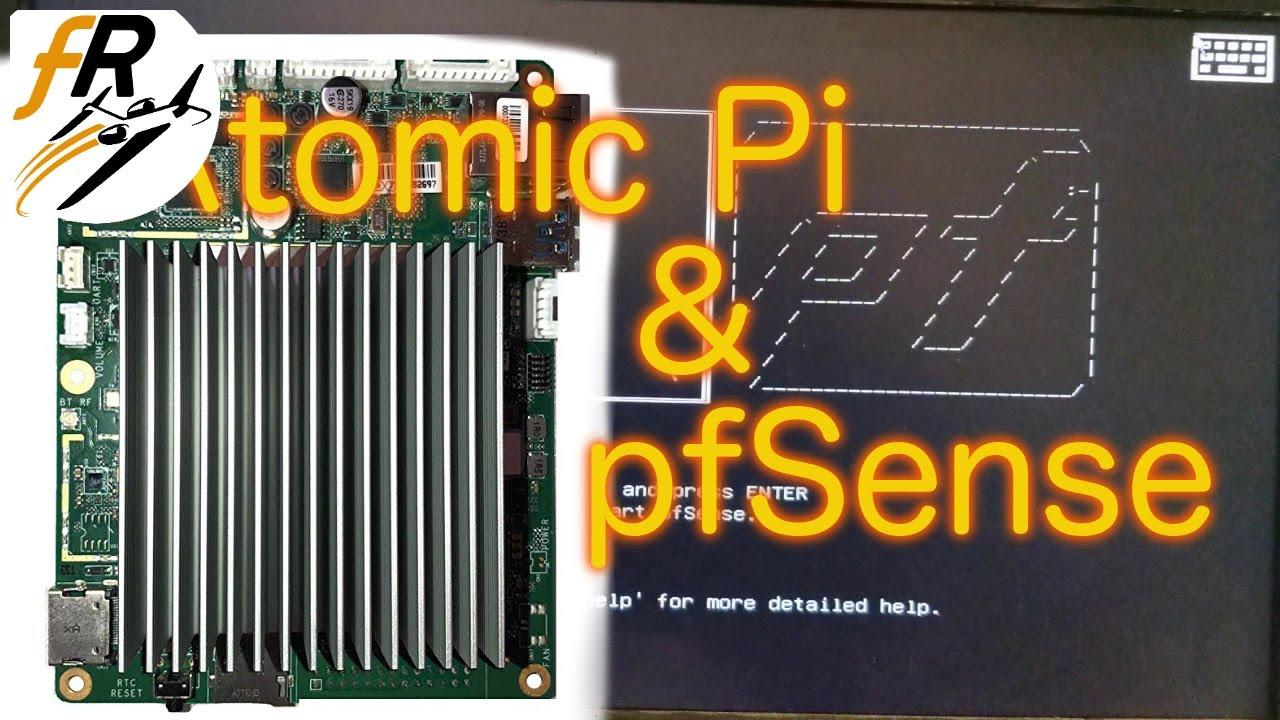 Atomic Pi pfSense Router / Firewall