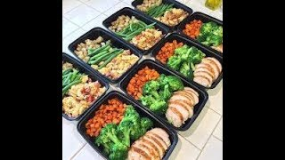 EPIC 25$ 5 Day Meal Prep For Weight loss & Fitness