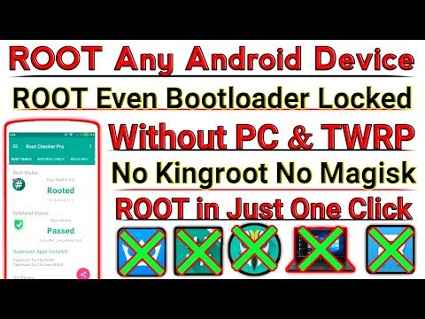 100% ROOT Any Android Device New Root Method 2019 [ Without PC Without TWRP Without Kingroot ]