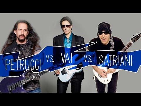 Steve Vai Vs Joe Satriani Vs John Petrucci   The Best Guitar Players in the World