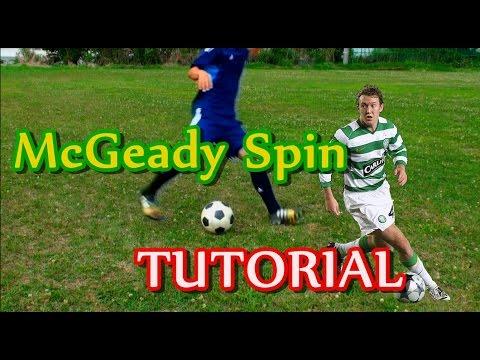"""サッカー【マクギーディターンのコツ解説】 """"McGeady Spin"""" Tutorial   Learn Amazing Soccer/Football Skill"""