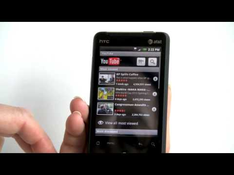 HTC Aria on AT&T Video Review