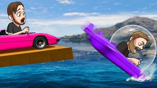 Who Can Build The Best Waterproof Car?! | GTA5