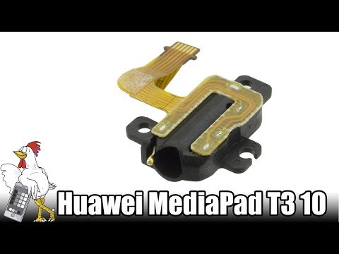 Audio jack connector for tablet Huawei Mediapad T3, AGS-W09 10 inch